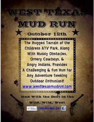 Wild Wild West Mud Run