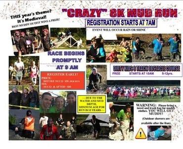 Muddy Bottom Crazy Mud Run