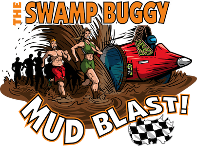 Swamp Buggy Mud Blast