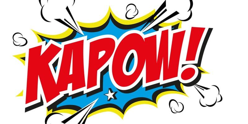 Kapow Superhero Challenge